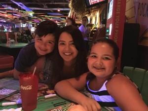 Mis 2 host kids mayores / Au Pair en Estados Unidos